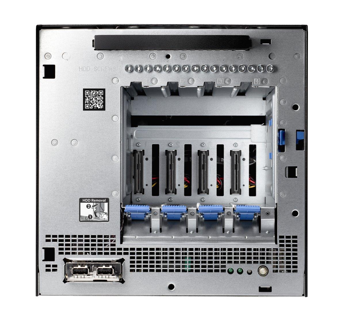 slide 1 of 10,show larger image, hpe proliant microserver gen10 x3418 1p 8gb-u 4lff nhp 200w ps perf server