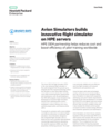 Avion Simulators builds a more reliable and cost-effective flight simulator through HPE OEM partnership
