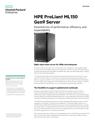 HPE ProLiant ML150 Gen9 Tower Server for SMBs and Enterprise data sheet