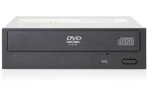 HPE Half-Height SATA DVD ROM JackBlack Optical Drive