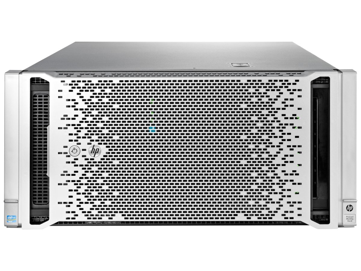 HP ProLiant ML350p Gen8 Rack Server System Intel Xeon E5-2630 2 3GHz 6C/12T  8GB (2 x 4GB) DDR3 646677-001 - Newegg com