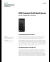 HPE ProLiant ML10 Gen9 Server data sheet (English)