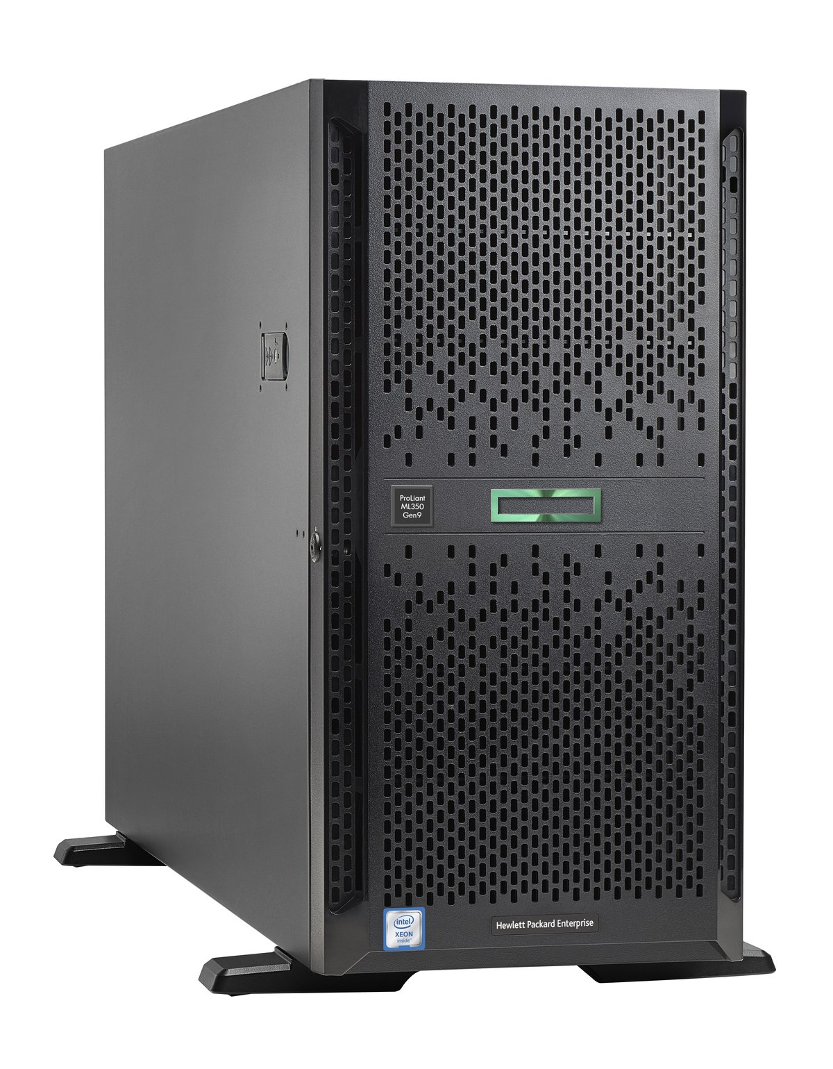 slide 3 of 5,show larger image, hpe proliant ml350 gen9 e5-2640v4 1p 16gb-r p440ar 8sff 2x800w ps server/s-buy