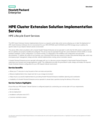 HPE Cluster Extension Solution Implementation Service (English)