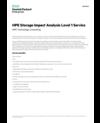 HPE Storage Impact Analysis Level 1 Service data sheet - US English (A4) (English)