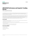HPE 3PAR Performance and Capacity Trending Service