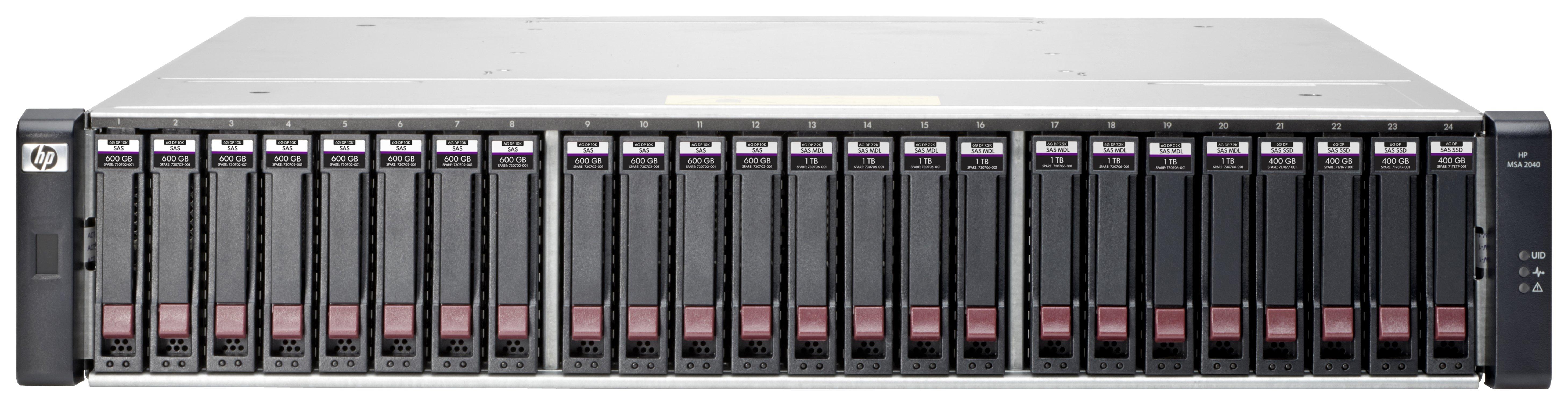 Hewlett Packard HP MSA 2040 SAS DC LFF STORAGE