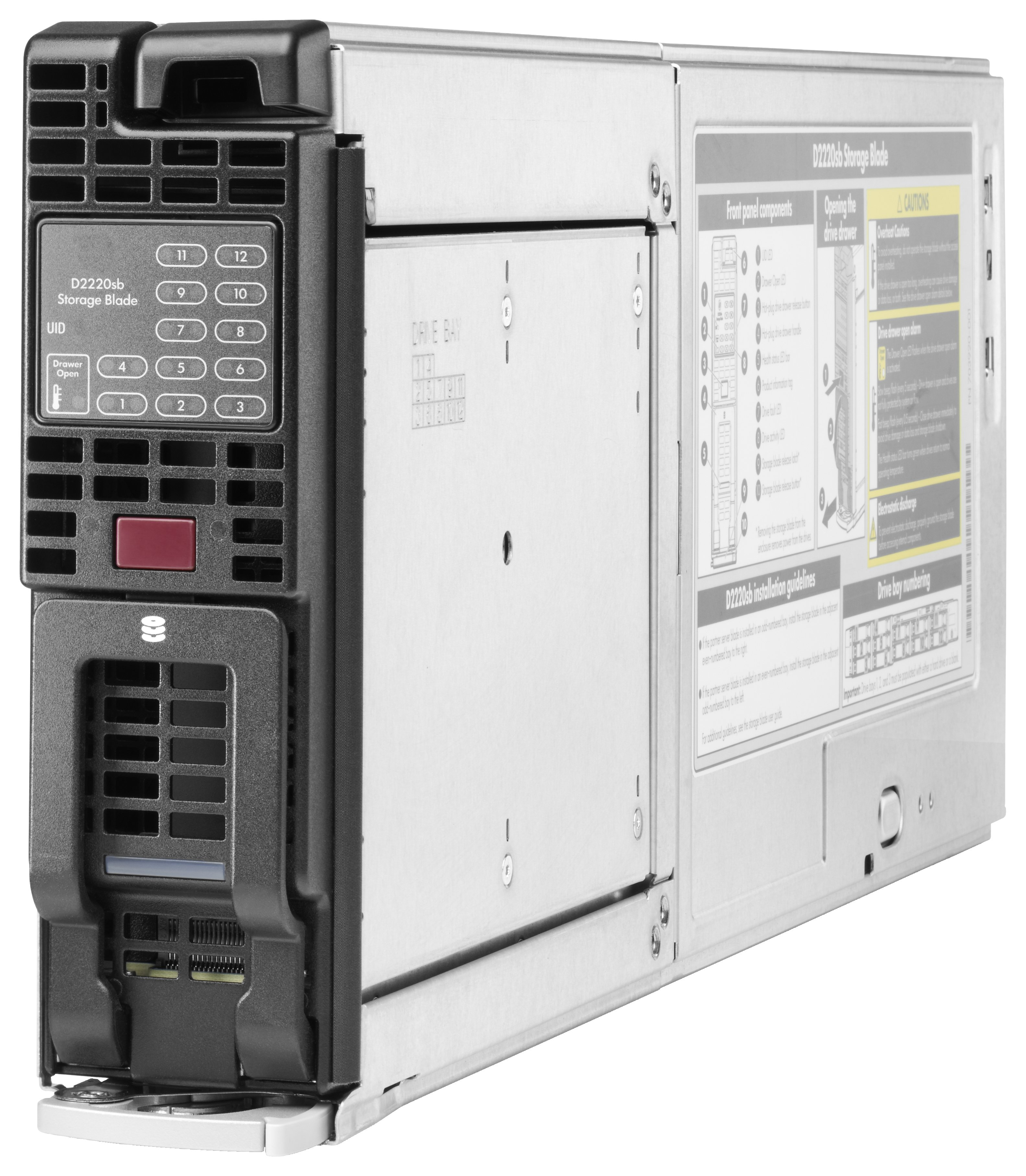 HPE D2220sb Storage Blade   Product Details   shi com