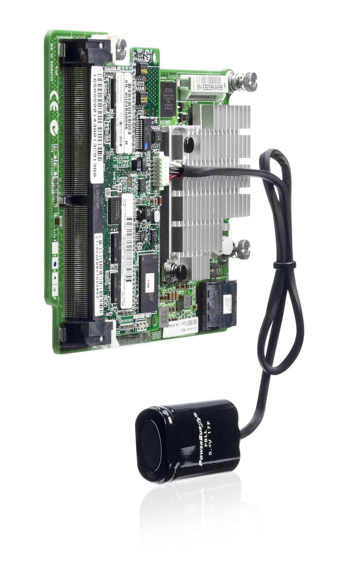 Smart Array P721m/2G FBWC 4-ports Ext Mezzanine SAS Controller