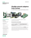 Flexible network adapters from QLogic family data sheet
