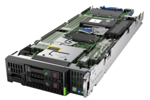 HPE ProLiant BL460c Gen9 E5-2609v3 1P 16GB-R H244br Entry Server