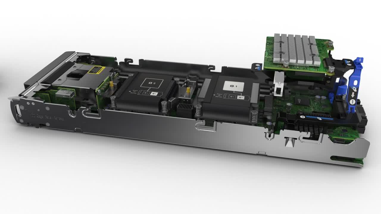 HPE ProLiant BL460c Gen9 - blade - Xeon E5-2620V4 2 1 GHz - 16 GB - 0 GB