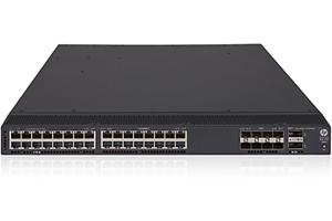 HPE FlexFabric 5700 32XGT 8XG 2QSFP+ TAA-compliant Switch