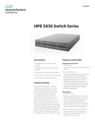 HPE 5830 Switch Series data sheet