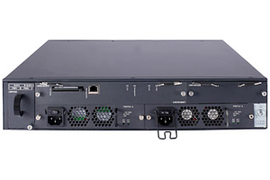 HPE FlexFabric 5800 48G PoE+ TAA-compliant 2-slot Switch