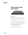 HPE FlexFabric 5930 Switch Series data sheet