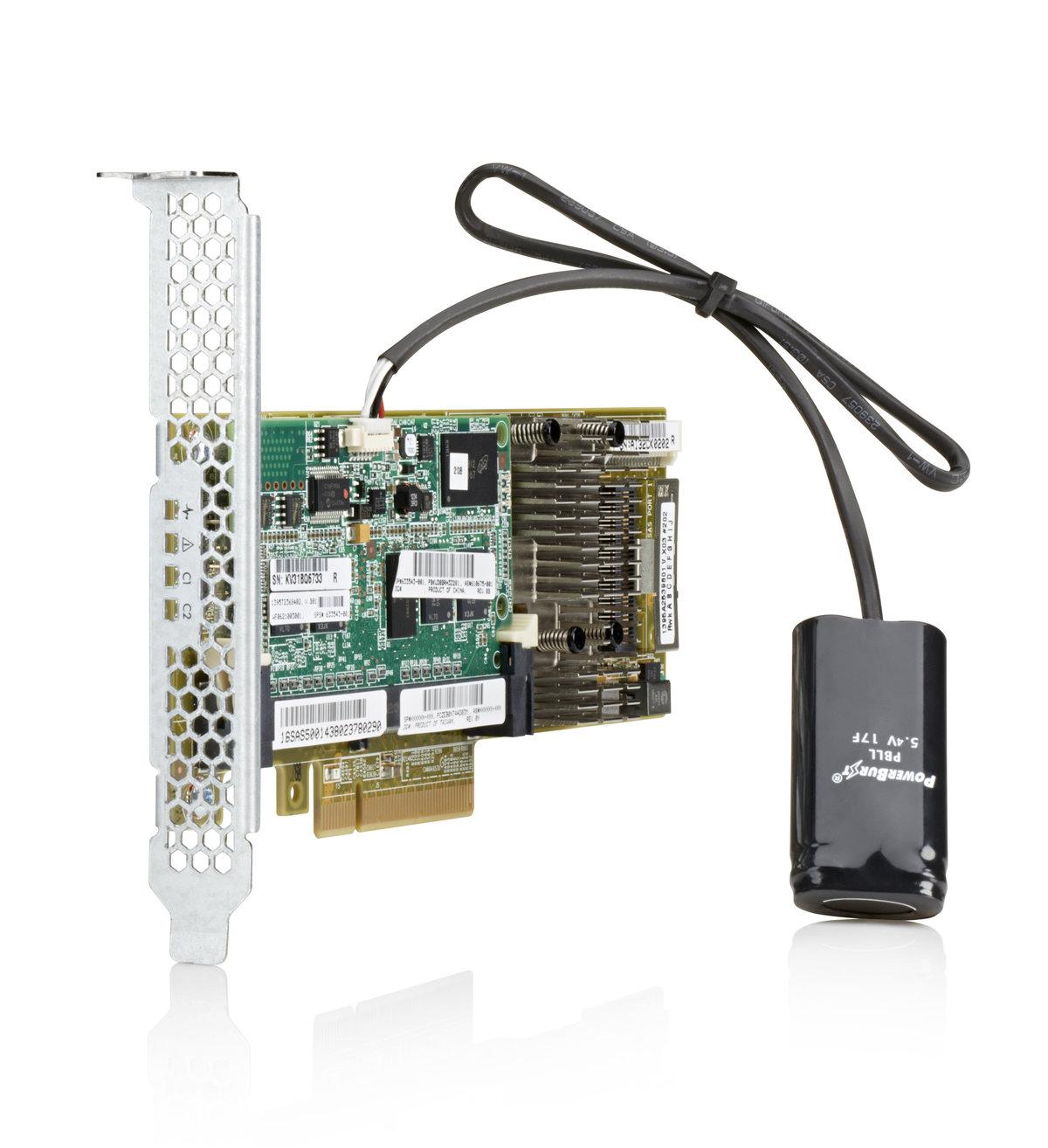 HPE Smart Array P430/2GB with FBWC - storage controller (RAID) - SATA 6Gb/s  / SAS 6Gb/s - PCIe 3 0 x8