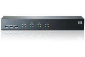HPE 1x4 USB/PS2 KVM Console Switch