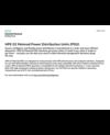 Metered PDU Technical Data Sheet