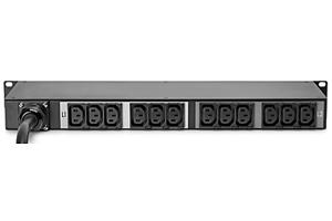 HPE Metered 4.9kVA/L6-30P 24A/208V Outlets (12) C13/Horizontal NA/JP PDU