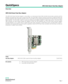 HPE H240 Smart Host Bus Adapter (English)