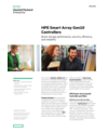 HPE Smart Array Gen10 Controllers: Boost storage performance, security, efficiency, and reliability data sheet (English)