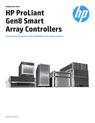 HP ProLiant Gen8 Smart Array Controllers family data sheet