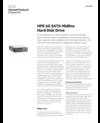 HPE 6G SATA Midline Hard Disk Drive data sheet