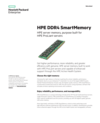HPE DDR4 SmartMemory data sheet