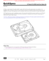 HP Serial-ATA (SATA) Hard Drive Option Kits