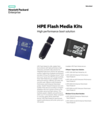 HPE Flash Media Kits for high performance solutions for boot data sheet