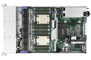 HPE ProLiant DL560 Gen9 E5-4655v3 2P 64GB-R P440ar/2G 533FLR-T 1200W RPS Server/S-Buy