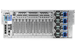 HPE ProLiant DL580 Gen8 E7-4890v2 4P 128GB-R P830i SAS 5 SFF 1500W RPS Server