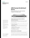 HPE ProLiant DL360 Gen9 Server: Dense performance for multi-workload compute in the data center data sheet
