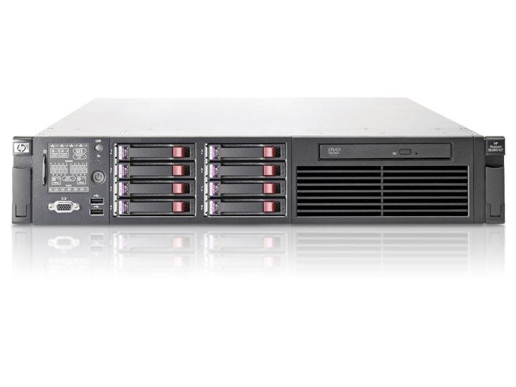 HPE Hewlett Packard Enterprise ProLiant DL380 G7 server 2 4 GHz Intel®  Xeon® 5000 Sequence E5645 Rack
