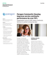Paragon Community Housing Group improves service continuity performance with HPE Helion Continuity Services