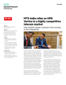 MTS India relies on HPE Vertica in competitive telecom market