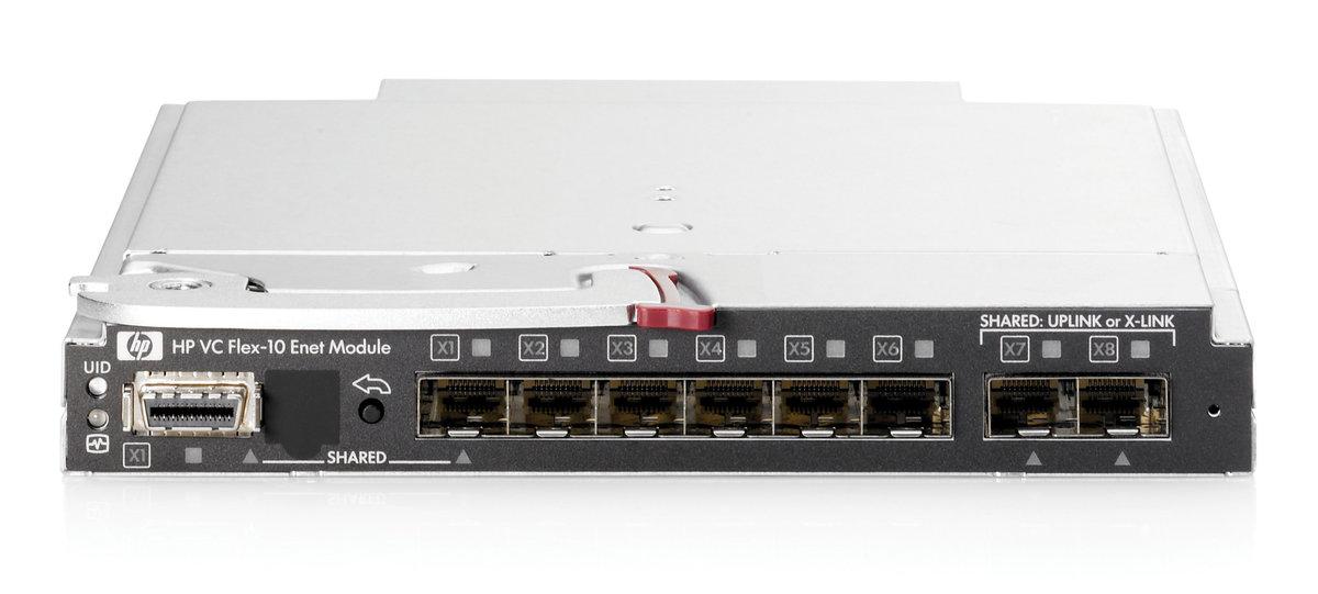 HP VC Flex-10 Enet Module 455880-B21 No Transcievers