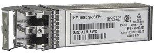 HPE BladeSystem c-Class 10Gb SFP+ SR Transceiver