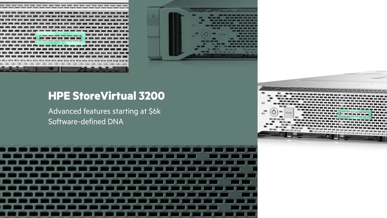 Hewlett Packard Enterprise - StoreVirtual (N9X22A)