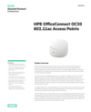 HPE OfficeConnect OC20 802.11ac Access Points - Data sheet