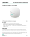 HPE OfficeConnect OC20 802.11ac Series Access Points