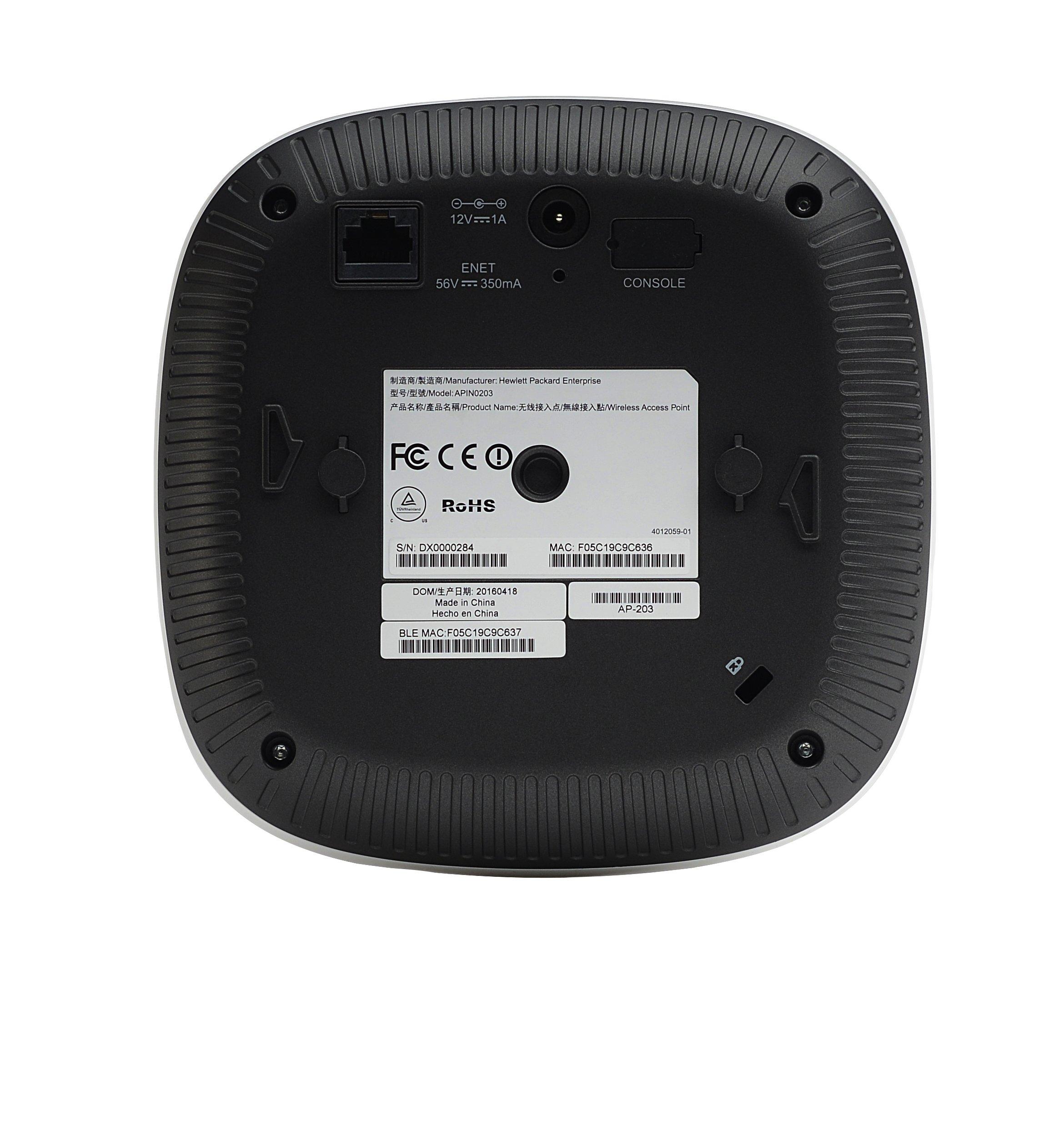 Aruba IAP-207 (RW) 802 11n/ac Dual 2x2:2 Radio Integrated