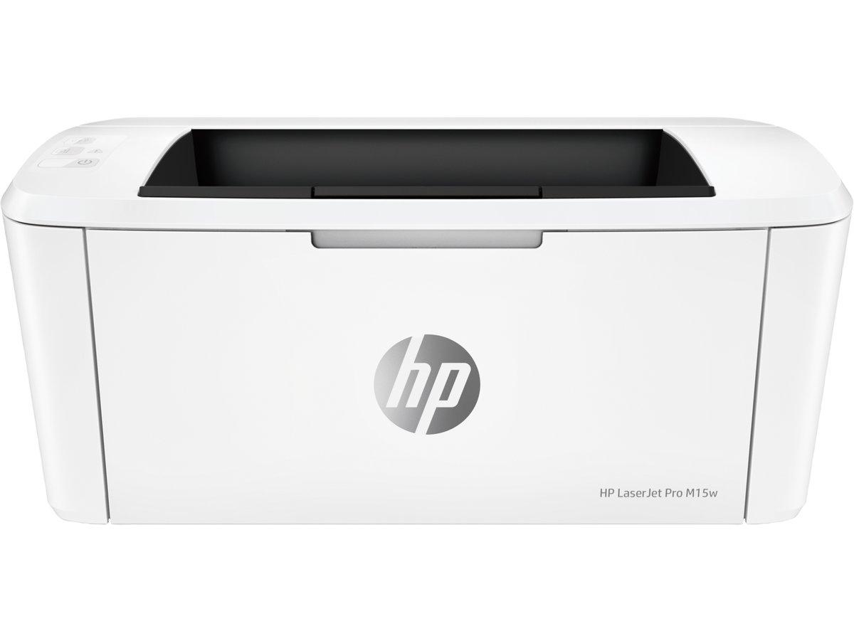 slide 1 of 20,show larger image, hp laserjet pro m15w printer