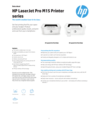 HP LaserJet Pro M15 Printer series (Valid for MEMA)
