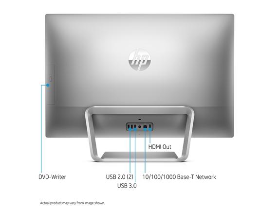AIO HP i5-7400T, 12GB memoria ram, 1TB hard disk, 27