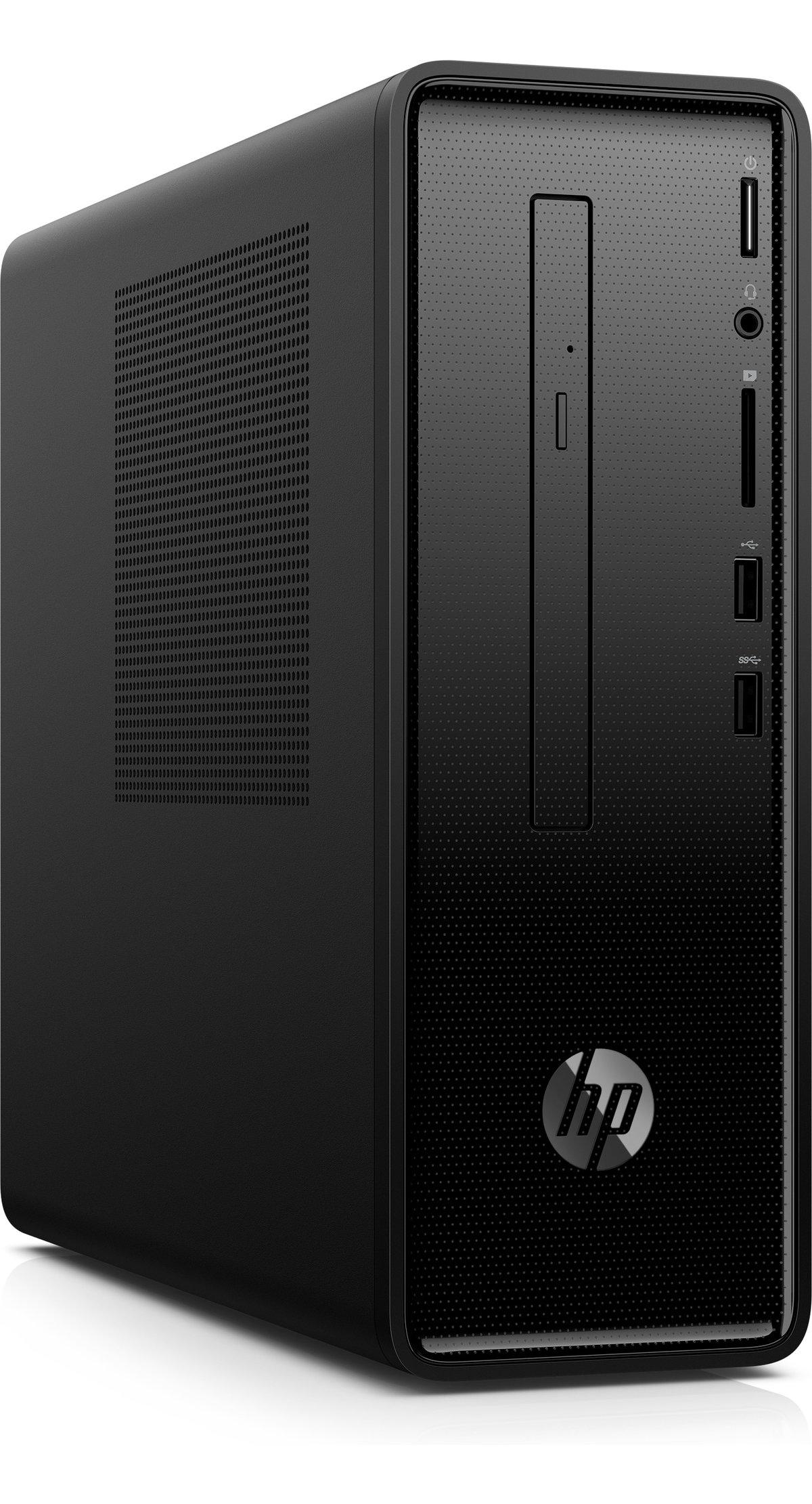 slide 3 of 7,show larger image, hp slimline desktop - 290-p0043w