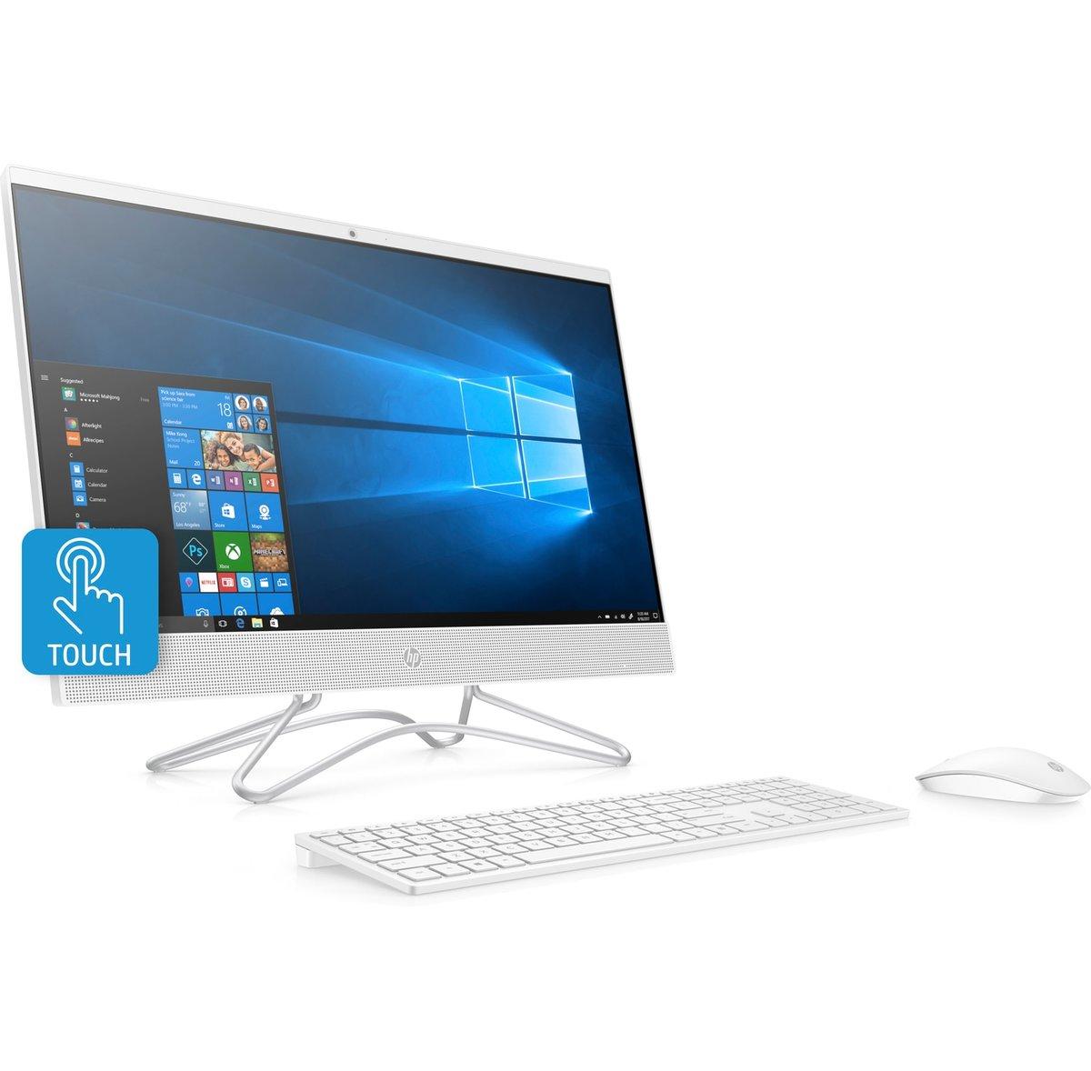 HP 24 f0046 All In One PC 23.8 Screen 7th Gen AMD A9 8GB Memory 1TB ...