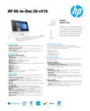 AMS HP All-in-One 20-c410 Datasheet