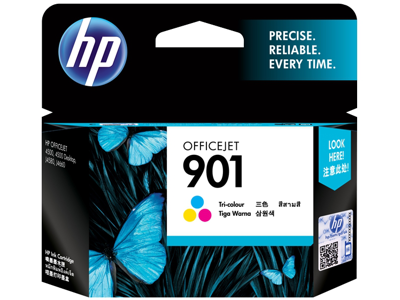 HP 901 Tri-color Original Ink Cartridge